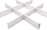 Грильято СТАНДАРТ 200x200 h=40, белый
