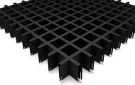 Грильято СТАНДАРТ 50x50 h=40, чёрный