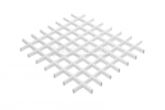 Грильято NL10 белый глянец 75X75