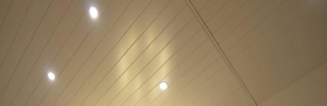 Реечный потолок бесщелевого дизайна OMEGA