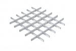 Грильято NL10 металлик серебристый 100X100