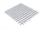 Грильято NL10 металлик серебристый 50X50