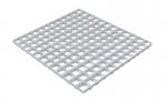 Грильято GL15 металлик серебристый 50х50