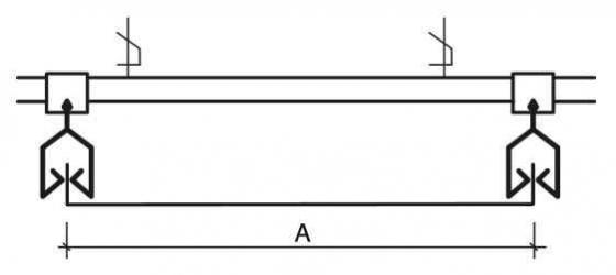Кромки потолка Albes AP 210