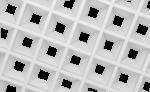 Грильято Пирамидальный белый