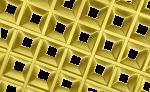 Грильято Пирамидальный золото