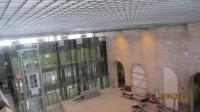 Монтаж грильято с высокими потолками