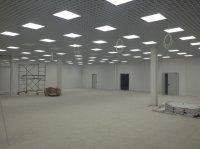 потолок решетка, монтаж