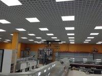 Монтаж светильников Грильято