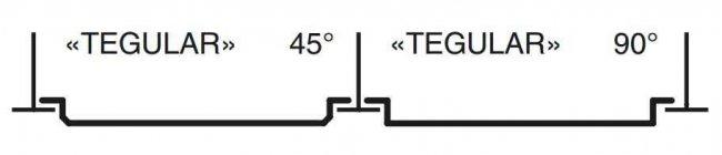 Кассетный потолок Албес с кромками «TEGULAR», «BOARD», «LINE»