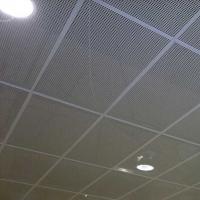 Кассетный потолок Люмсвет из ПВС (из просечно-вытяжной сетки)