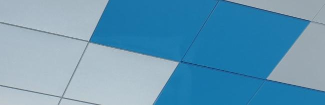 Кассетный потолок Албес с кромками «VECTOR»