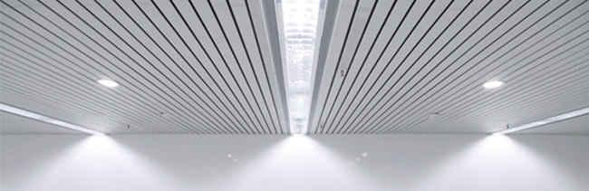Реечный потолок бесщелевого дизайна SIGMA