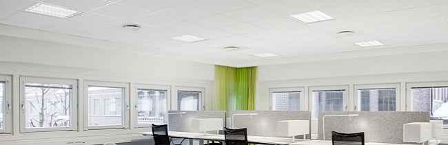 Светодиодные светильники для потолков Армстронг
