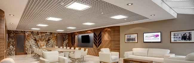 Светодиодные светильники для потолка грильято